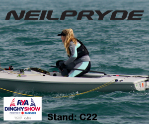 Neil Pryde Sailing 2018 RYA Dinghy Show