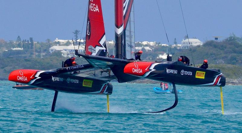 The World Series of Sailing will require the AC50 foils to be standardised - 2017 America's Cup Bermuda - photo © Scott Stallard