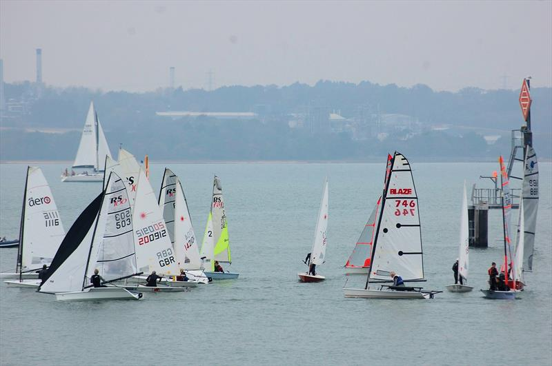 It may not be an ideal situation, but the fact remains that the majority of dinghy racing at the grassroots club level takes place using a handicap system - photo © David Henshall