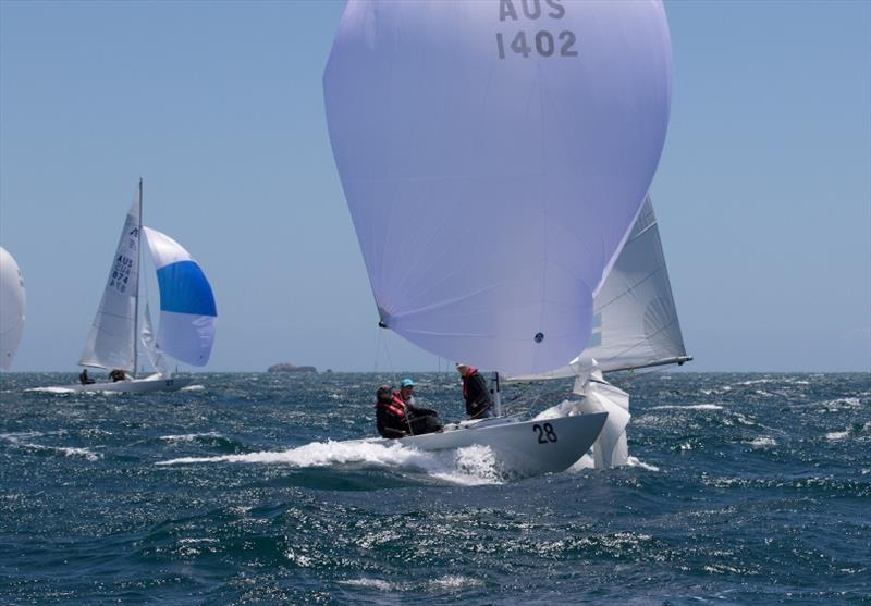 Final day - The Croc - Third overall - Etchells Australian Championships at Fremantle - photo © Ron Jensen