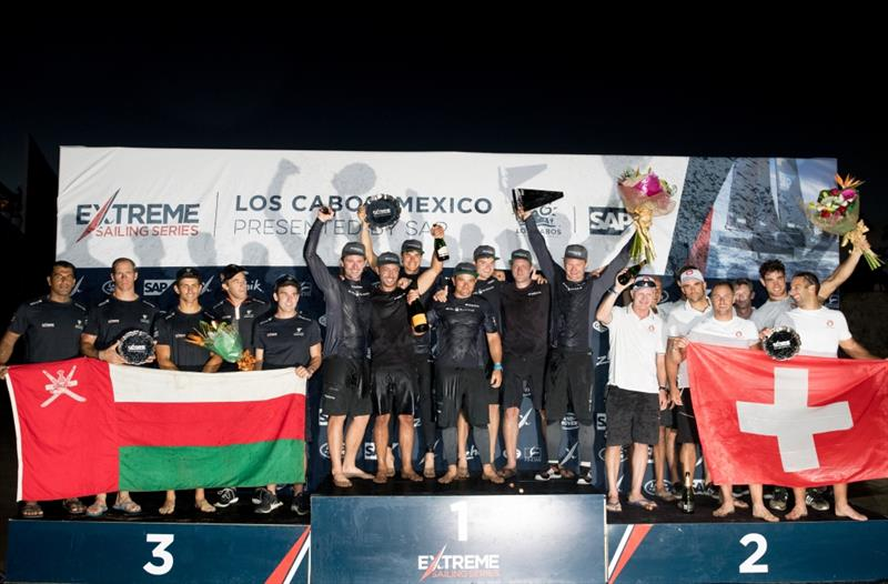 The Extreme Sailing Series 2017. Act 8. 30th November- 3rd December 2017. Los Cabos Mexico, Cabo San Lucas Resort. DAY 4 Prize Giving at the Breathless Hotel - photo © Lloyd Images