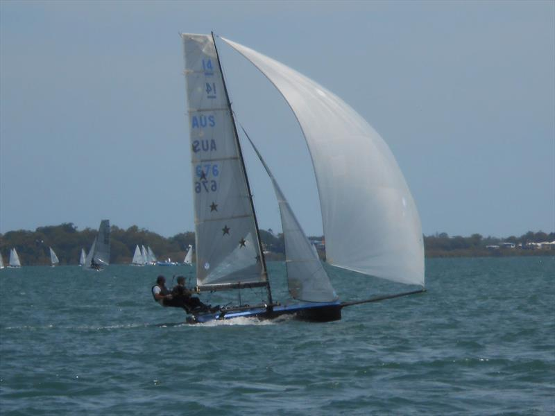Joker Anthony Anderson - International 14 Australian Championships - Day 5, Race 8 - photo © John Graham