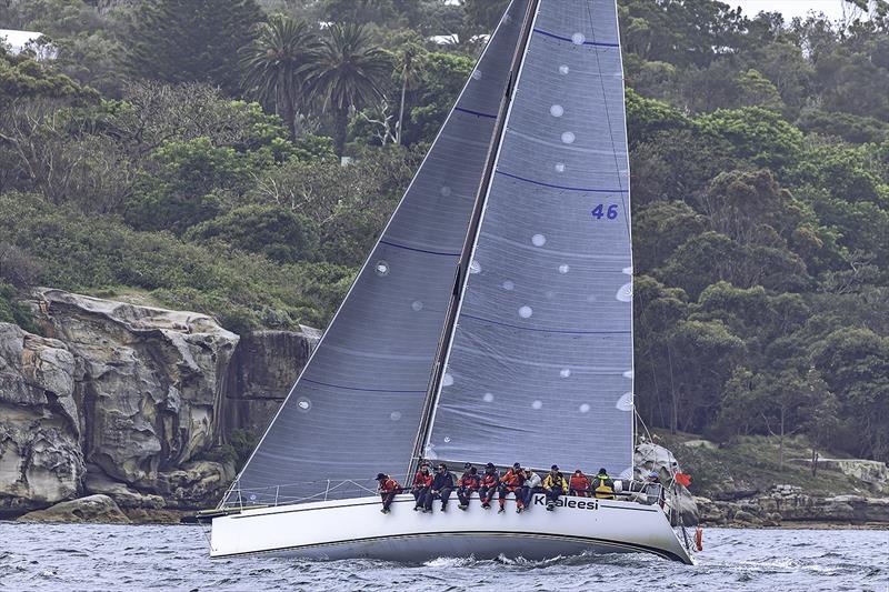 Khaleesi wins the 2017 Bird Island race leading up to Sydney to Hobart; <a target=