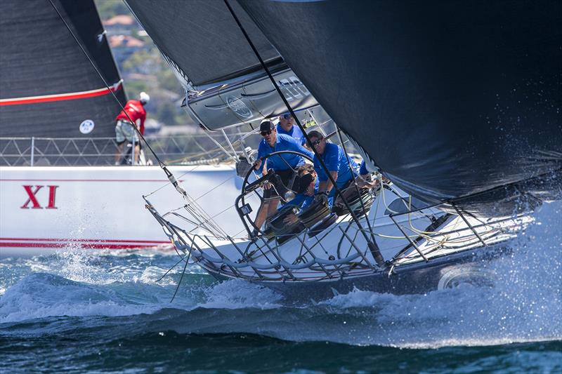 Black Jack powering in to a mark - photo © Andrea Francolini