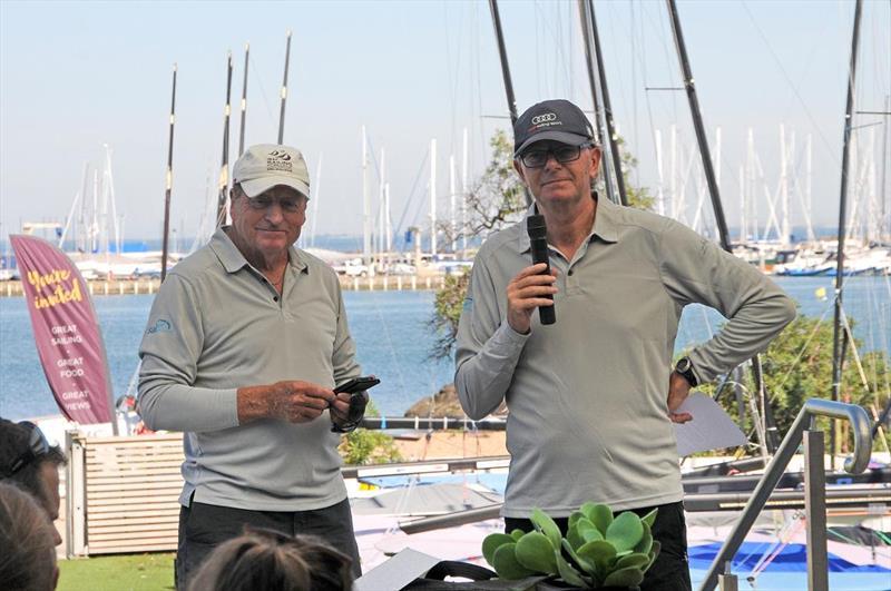 Kevin Wilson and Mark Taylor - photo © Gordon Hyde
