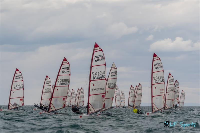 ACO Musto Skiff World Championship - Day 5 - photo © LF Sports