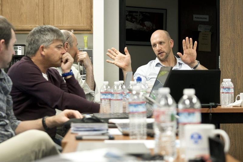 Magnus Doole led the group in a discussion on