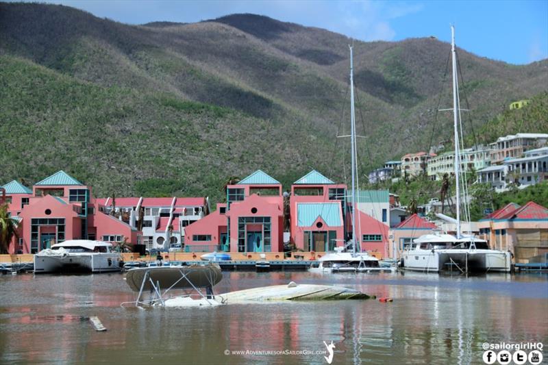 Nanny Cay, Tortola, BVI - photo © Nic Douglass / www.AdventuresofaSailorGirl.com
