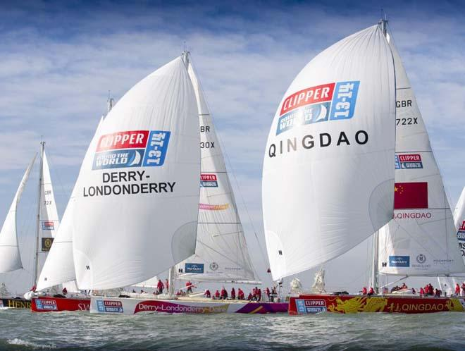 2013-14 Clipper Round the World Yacht Race © Clipper Ventures PLC . http://www.clipperroundtheworld.com