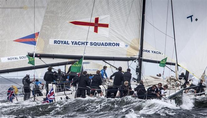 Royal Yacht Squadron (GBR) onboard THE CAT CAME BACK - New York Yacht Club Invitational Cup presented by Rolex ©  Rolex/Daniel Forster http://www.regattanews.com
