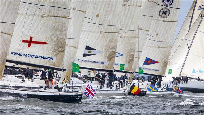 International battle at the NYYC Invitational Cup presented by Rolex  - New York Yacht Club Invitational Cup presented by Rolex ©  Rolex/Daniel Forster http://www.regattanews.com
