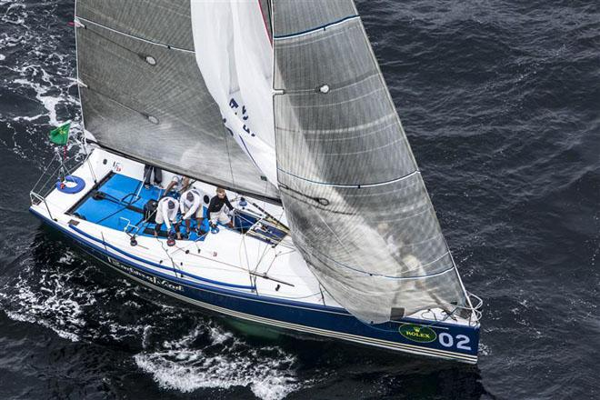 BARKING MAD (USA), owned and skippered by Jim Richardson, Chairman of the Farr 40 Class ©  Rolex/Daniel Forster http://www.regattanews.com