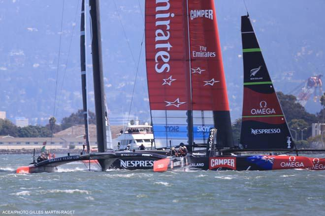 34th America's Cup - Emirates Team New Zealand, Race Day 3 © ACEA - Photo Gilles Martin-Raget http://photo.americascup.com/