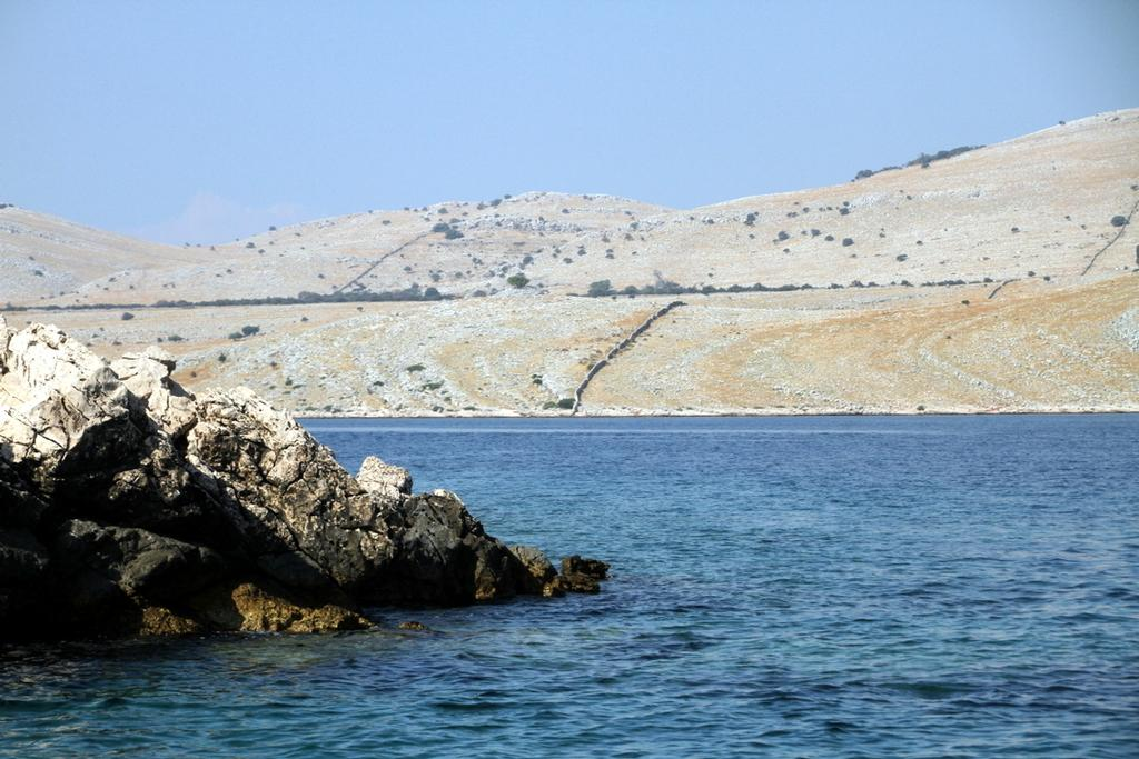 Moonscape Kornat Island has a beauty too - Croatia Kornati Yacht Rally © Trevor Joyce http://marinerboating.com.au