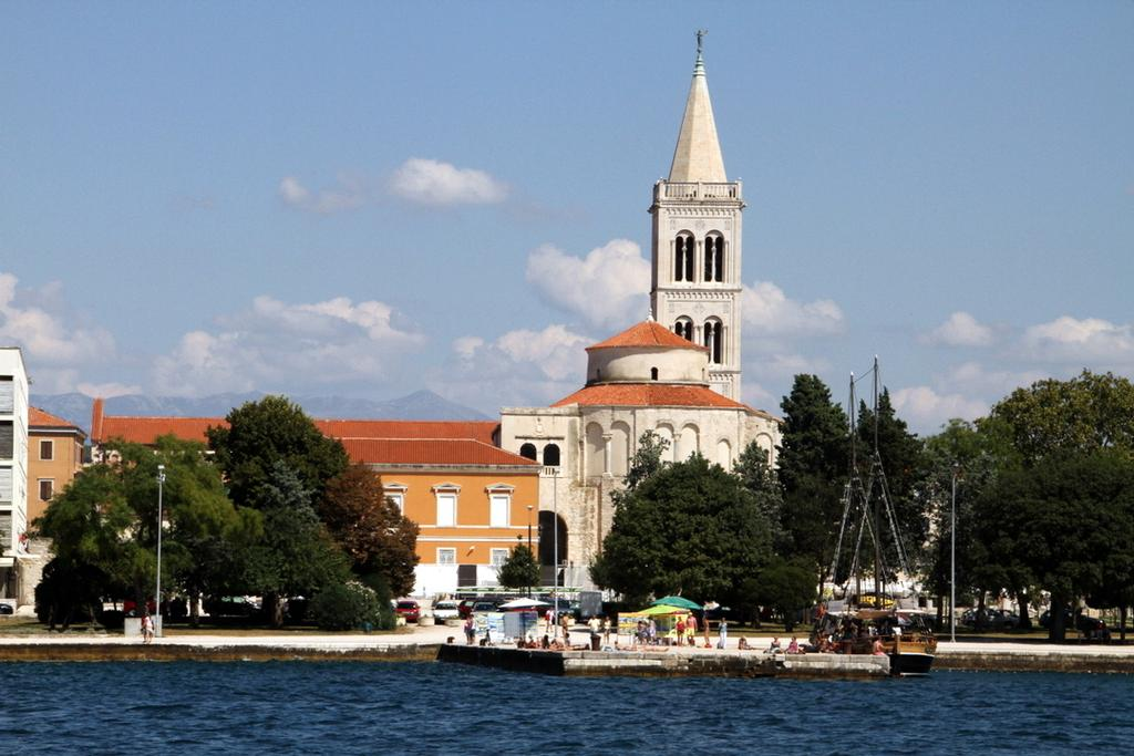 Zadar city is a pedestrian delight - Croatia Kornati Yacht Rally © Trevor Joyce http://marinerboating.com.au