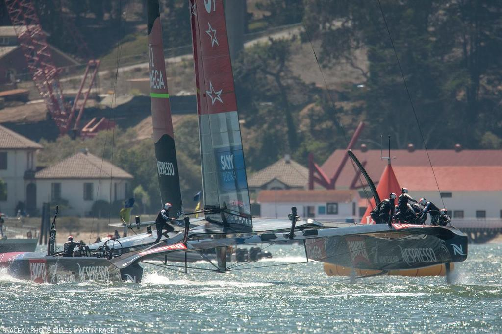 Emirates Team NZ - Louis Vuitton Cup Final, Day 4 © ACEA - Photo Gilles Martin-Raget http://photo.americascup.com/