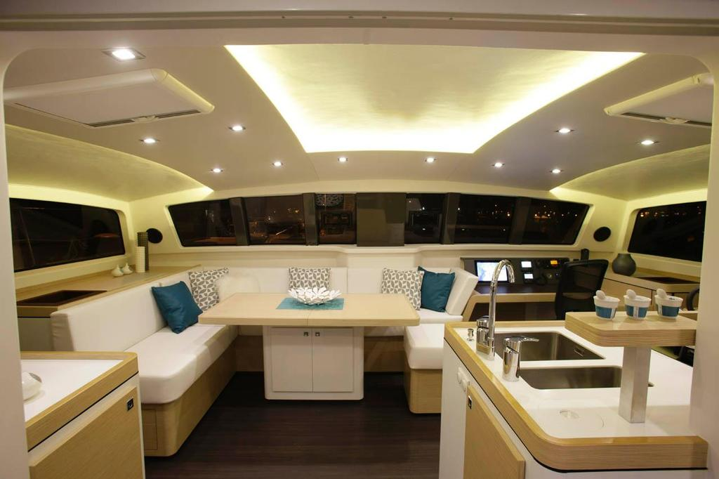 Outremer 51 interior © Ross Southam-Walker http://www.multihullcentral.com/outremer-51/