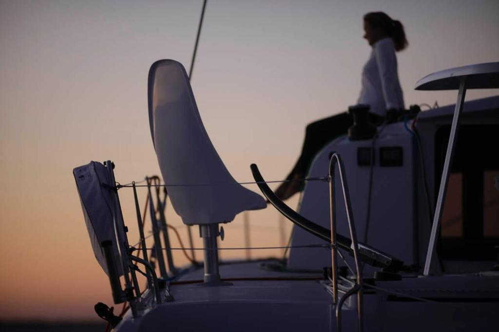 Outremer 51 at sunset © Ross Southam-Walker http://www.multihullcentral.com/outremer-51/