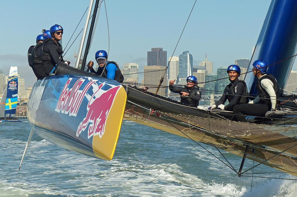 Red Bull Youth America's Cup - Training August 15, 2013 © John Navas