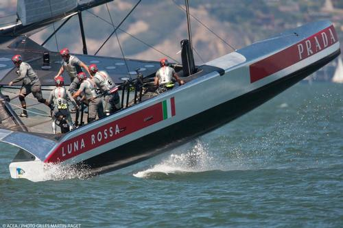 Luna Rossa - Louis Vuitton Cup Final, Day 4 © ACEA - Photo Gilles Martin-Raget http://photo.americascup.com/
