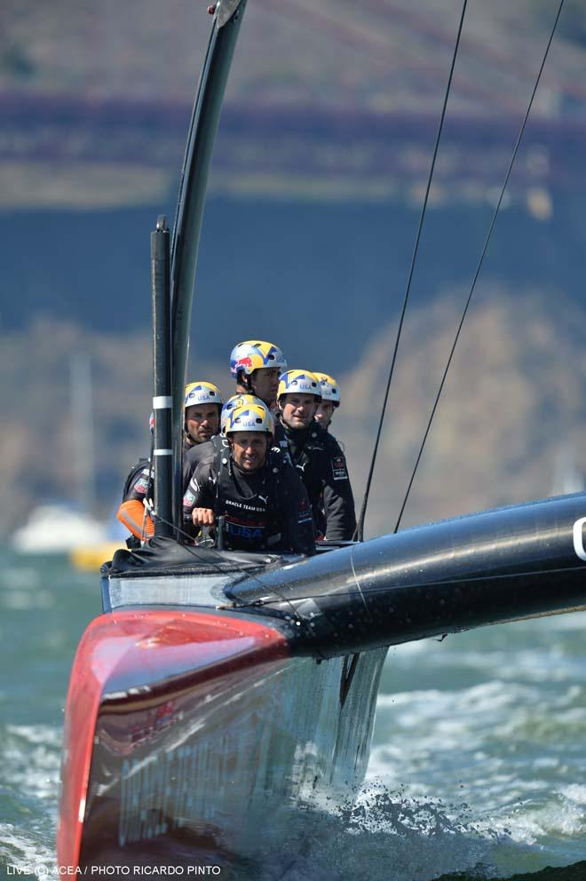34th America's Cup - ORACLE Team USA vs Emirates Team New Zealand, Race Day 6 © ACEA / Ricardo Pinto http://photo.americascup.com/
