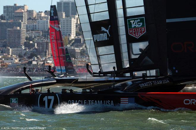 15/09/2013 - San Francisco (USA,CA) - 34th America's Cup - Final Match, Day 6 © ACEA - Photo Gilles Martin-Raget http://photo.americascup.com/