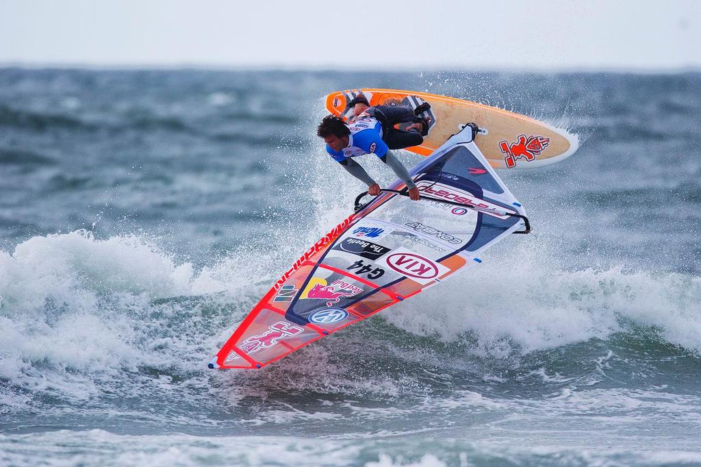 Philip Köster, the youngest wave world champion in the PWA history ©  John Carter / PWA http://www.pwaworldtour.com