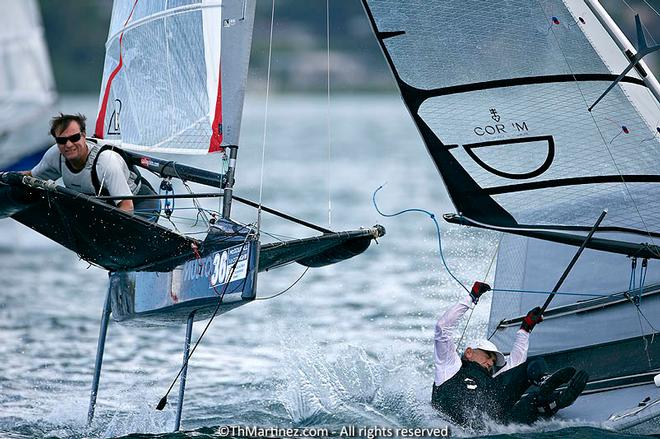 2013 Moth Worlds, Day 3. © Thierry Martinez/International Moth Class http://www.moth-sailing.org
