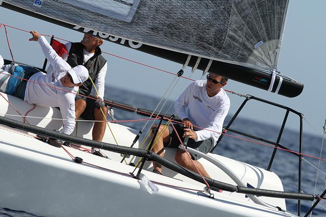Alessandro Rombelli, Azimut by STIG during the 2013 Melges 32 World Championship © 2013 JOY | IM32CA