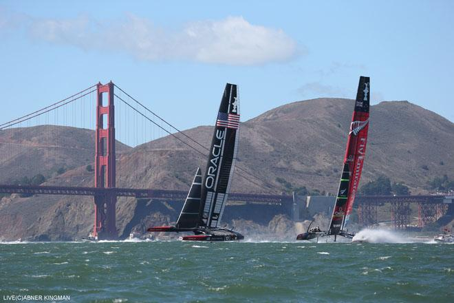 34th America's Cup - Oracle Team USA vs Emirates Team New Zealand, Race Day 15 © ACEA / Photo Abner Kingman http://photo.americascup.com