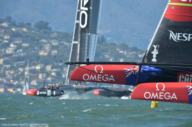 34th America's Cup - Emirates Team New Zealand © ACEA / Ricardo Pinto http://photo.americascup.com/