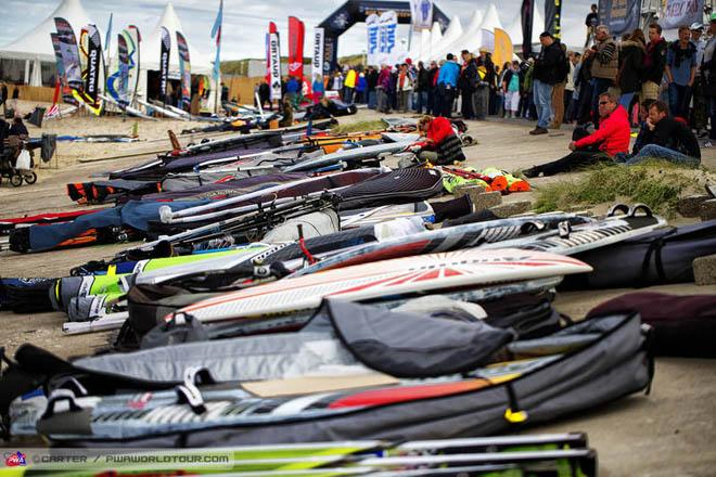 Equipment ready for action ©  John Carter / PWA http://www.pwaworldtour.com