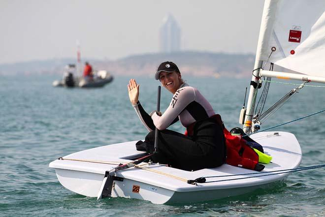 Hey Ya- - 2013 ISAF Sailing World Cup Qingdao Day 4 © ISAF