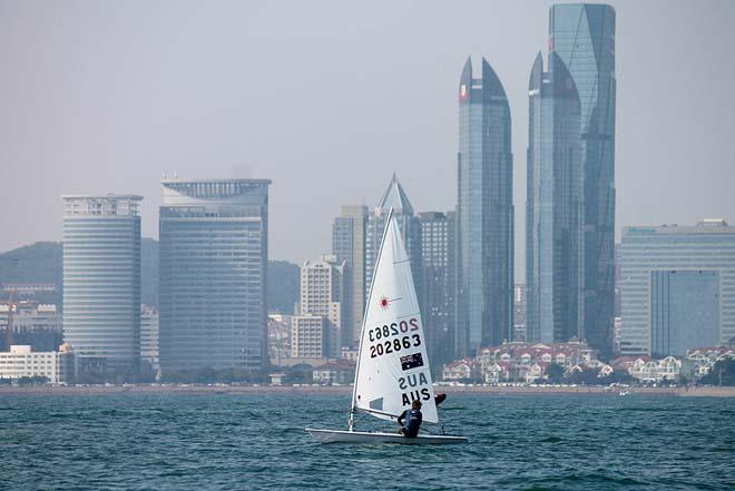 Jeremy O'Connel AUS - 2013 ISAF Sailing World Cup Qingdao Day 4 © ISAF
