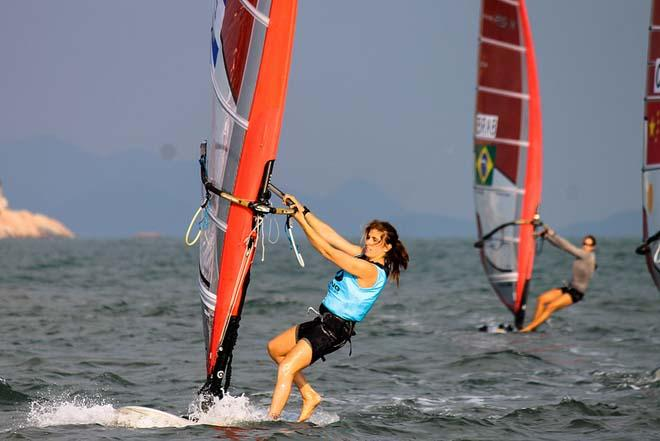 Maayan Davidovich (ISR) Women's RS:X - 2013 ISAF Sailing World Cup Qingdao Day 5 © ISAF