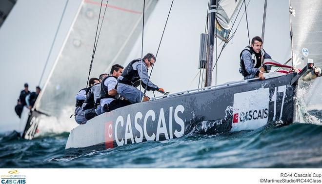 Team Cascais-Aleph Racing at the RC44 Cascais Cup © MartinezStudio.es