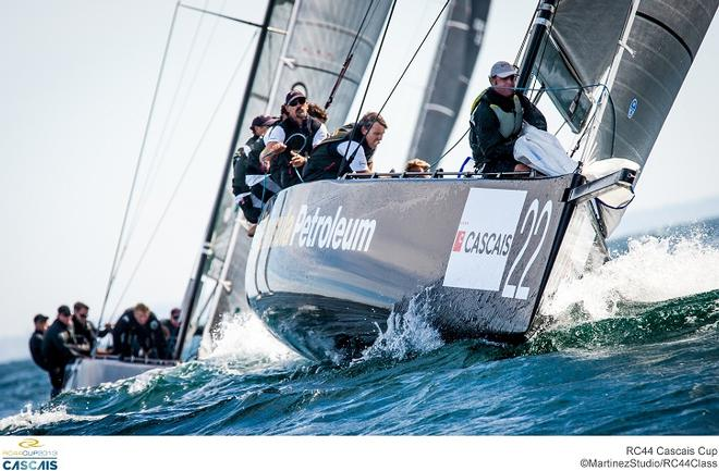 Team Peninsula Petroleum (GBR 1) at the RC44 Cascais Cup © MartinezStudio.es