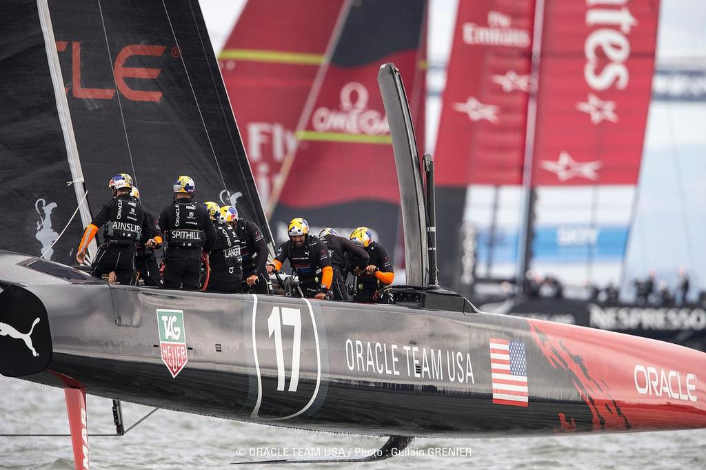 Oracle Team USA - San Francisco (USA) - Day 10 © Guilain Grenier Oracle Team USA http://www.oracleteamusamedia.com/