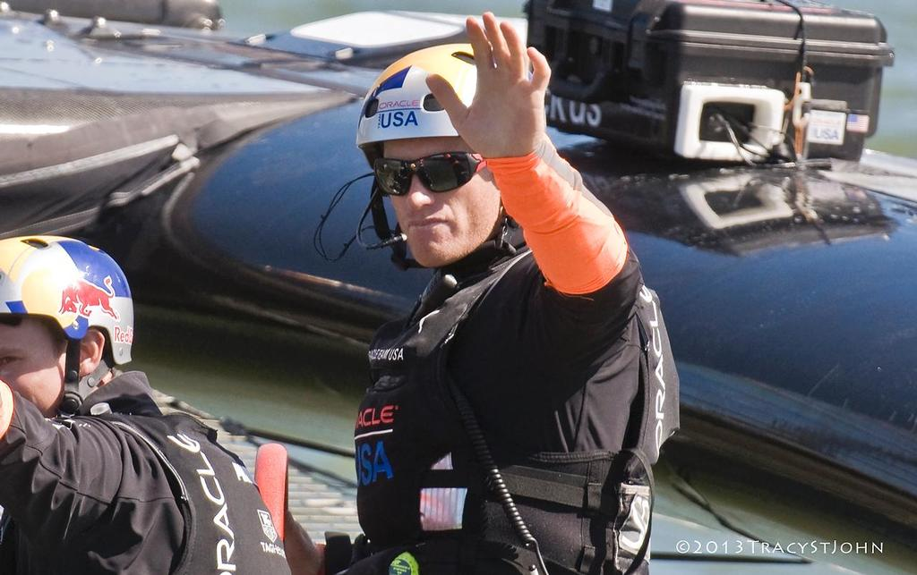 Jimmy Spithill - America's Cup © Tracy St John http://www.stjohnphoto.tv/