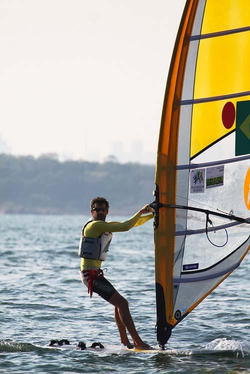 Ricardo Santos BRA Men's RS-X - 2013 ISAF Sailing World Cup Qingdao Day 4 © ISAF