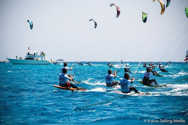 Kiteracing Oceanic Championships ©  Icarus Sailing Media http://www.icarussailingmedia.com/