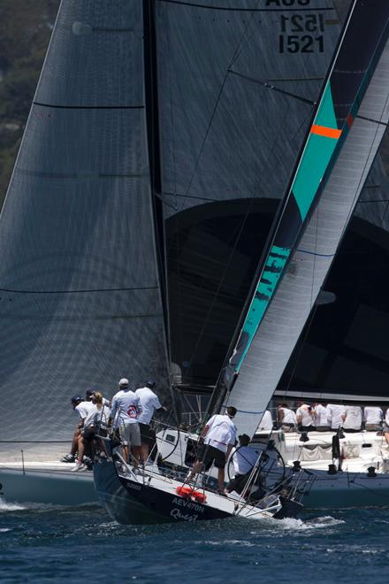 SAILING - TP52 Southern Cup Challenge 2013 - Pittwater, Sydney - 13/12/2013 - QUEST & FRANTIC © Andrea Francolini