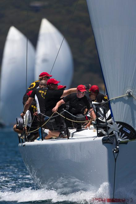 SAILING - TP52 Southern Cup Challenge 2013 - Pittwater, Sydney - 13/12/2013 - BEAU GESTE © Andrea Francolini