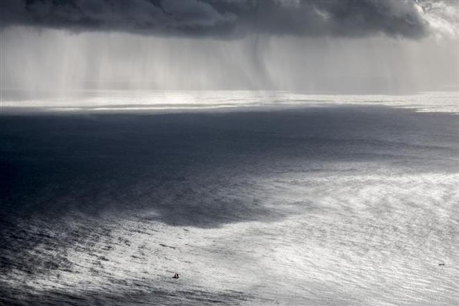 Approaching storm on morning of Day 4 - Rolex Sydney to Hobart 2013 ©  Rolex/Daniel Forster http://www.regattanews.com