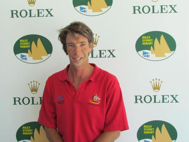 Brad Kellett is staring down the barrel of his 22nd Hobart - Rolex Sydney to Hobart  © CYCA Staff .