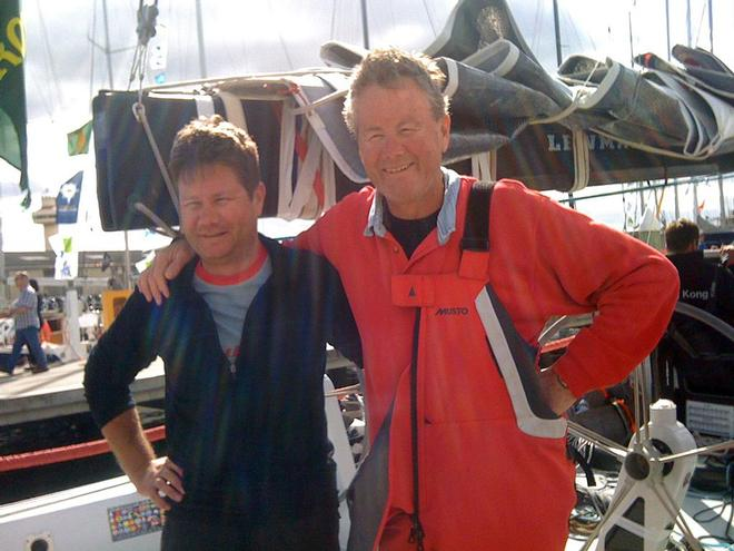 Bruce & Drew Taylor - Rolex Sydney to Hobart 2013 © Bruce Montgomery