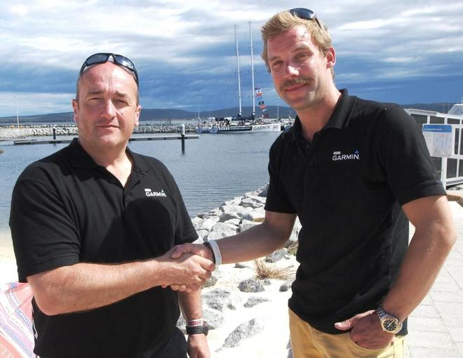 Mark Burkes and Ben Bowley - Clipper Round the World Yacht Race 2013/2014 © (c) Clipper Ventures Plc