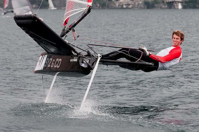 Moth foiling action ©  Martina Orsini / TFW