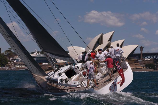 SAILING - SOLAS Big Boat Challenge 2013 - Cruising Yacht Club of Australia, Sydney - 10/12/2013<br /> GINGER &copy; Andrea Francolini
