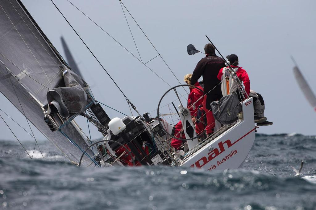 Bruce Taylor's Chutzpah in action in the recent CYCA Trophy Series - Rolex Sydney to Hobart 2013 © Andrea Francolini